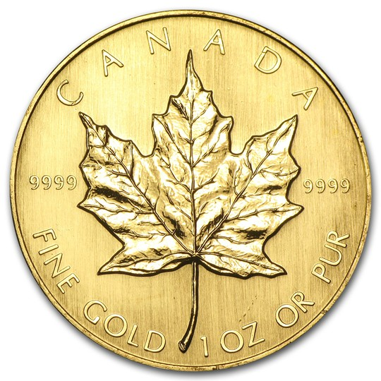 Random Darknet Shopper - 1 oz 1984 Canadian Gold Maple