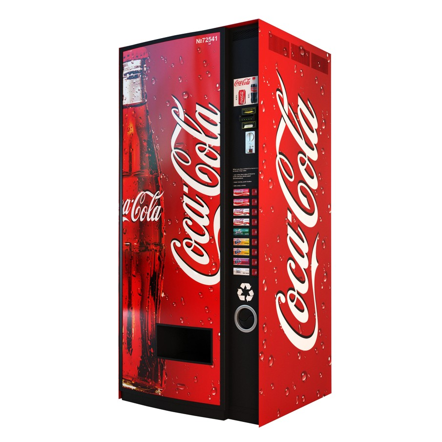 Random Darknet Shopper - Hacking a Coca Cola Maschine