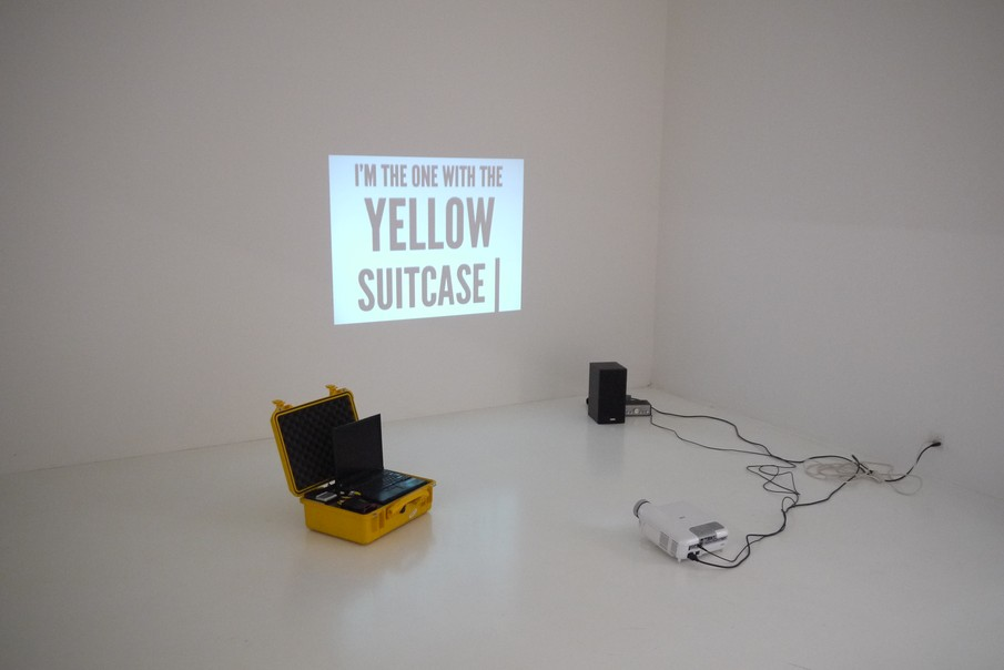!Mediengruppe Bitnik - Installation View of Surveillance Chess at Helmhaus Zürich, 2012